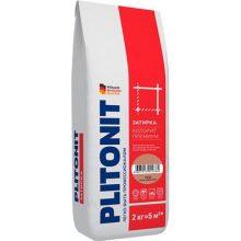 Затирка цветная Плитонит Colorit Premium темно-коричневая 2 кг