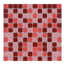 Мозаика ELADA Crystal шоколадно-малиновый 32,7x32,7 см