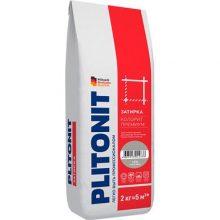 Затирка цветная Плитонит Colorit Premium темно-серая 2 кг