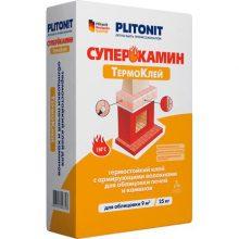 Клей для укладкиПлитонит термостойкий 25 кг