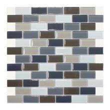 Мозаика ELADA Crystal серо-бежевый 32,7x32,4 см