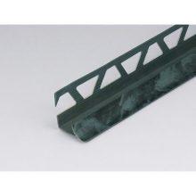 Профиль ПВХ: раскладка под плитку 9 - 10 мм зеленая внутренняя 2.5 м