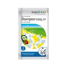 Средство от сорняков на газоне Avgust Лонтрел 300Д 3 мл