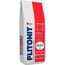 Эластичная затирка для швов COLORIT Premium белая 2 кг