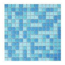 Мозаика ELADA Crystal голубой 32,7x32,7 см