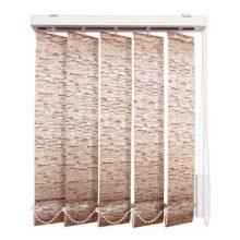 Жалюзи вертикальные Уют 9х180 см коричневые