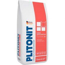 Клей для укладки Плитонит В+ 5 кг