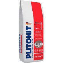 Затирка цветная Плитонит Colorit Premium мокрый асфальт 2 кг
