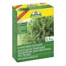 Удобрение ASB Greenworld долгодействующее для хвойных растений с магнием, 2.5 кг