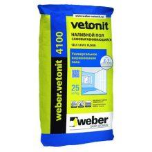 Пол наливной weber.vetonit 4100 25 кг