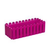Ящик балконный Emsa Landhaus пластиковый розовый