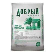 Торфяной наполнитель для биотуалетов, 50 л