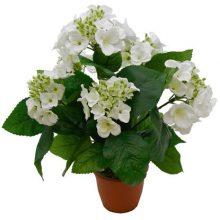 Растение искусственное Гортензия кремовая 40 см
