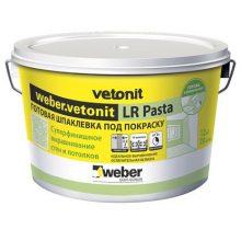 Шпаклевка финишная weber.vetonit LR Pasta 20 кг