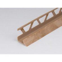 Профиль ПВХ: раскладка под плитку 9 - 10 мм бежевая внутренняя 2.5 м