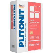 Клей для укладки Плитонит С 25 кг