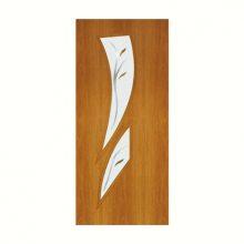 Полотно ламинированное Камея остекленное с фьюзингом миланский орех 70 см