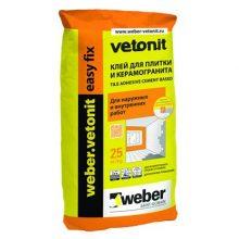Клей для плитки VETONIT EASY FIX 25 кг