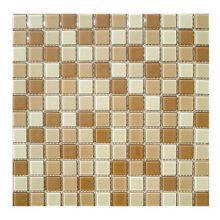 Мозаика ELADA Crystal бежево-коричневый 32,7x32,7 см
