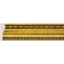 Плинтус потолочный COSCA ART Эрмитаж античное золото 60х20х2500 мм