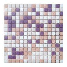 Мозаика ELADA Econom бело-персиковый 32,7x32,7 см