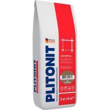 Затирка цветная Плитонит Colorit Premium коричневая 2 кг