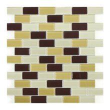 Мозаика ELADA Crystal песочно-коричневый 32,7x32,4 см
