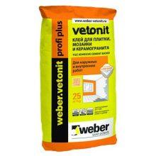 Клей для укладки weber.vetonit profi+ 25 кг