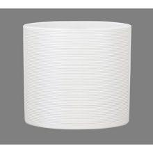 Кашпо Шойрих 828 Панна белый керамическое D23 H23