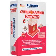 Раствор кладочный Плитонит СуперКамин ОгнеУпор 20 кг