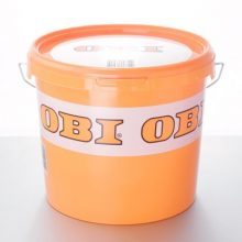 Ведро с логотипом OBI