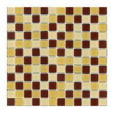 Мозаика ELADA Crystal песочно-коричневый 32,7x32,7 см