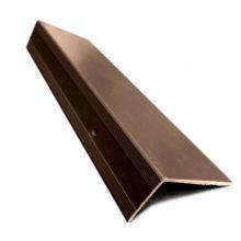 Планка торцевая MultiDeck Шоколад 30 х 30 х 3000 мм
