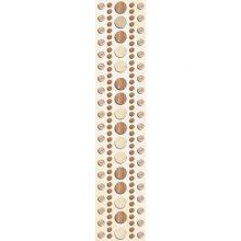 Бордюр La Favola Рондо бежевый 35x7,5 см