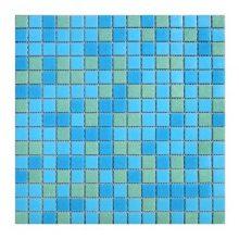 Мозаика ELADA Econom сине-зеленый 32,7x32,7 см